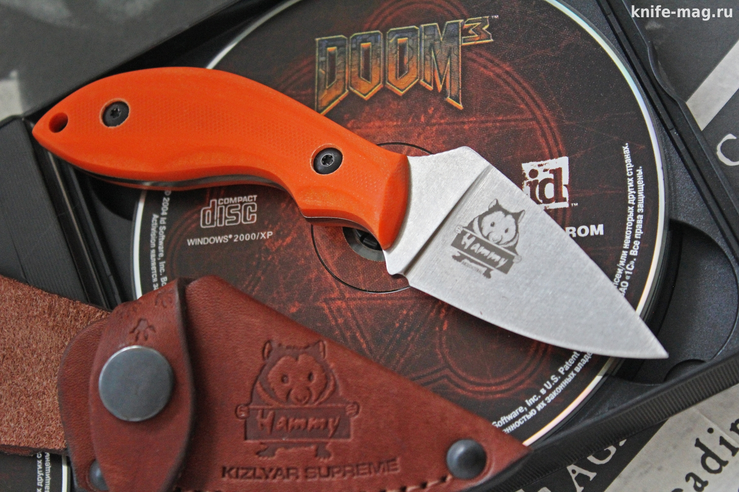 Hammy Niolox Stone Wash Orange G-10