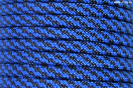 Paracord Type III 550, Spiral Black&Blue
