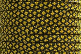 Paracord Type III 550, Grid Black&Gold