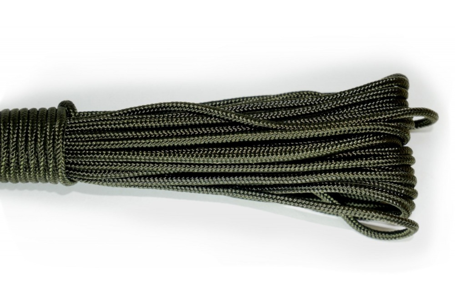 Paracord Type I 100, Simple Olive
