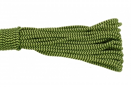 Paracord Type I 100, Mexico Black&LimeGreen
